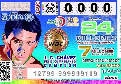 #VIDEO / Lotería Nacional retoma sorteos con homenaje a JC, en su cumpleaños 58