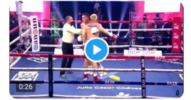 #VIDEO / Aquí, el limpio óper que abrió la ceja y pone en duda la carrera del Jr.