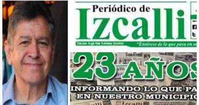 Descansa en paz Ángel Abel Gutiérrez González, colega, amigo y director del Periódico de Izcalli