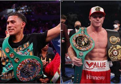 David Benavidez, ve posible una pelea contra Canelo Alvarez