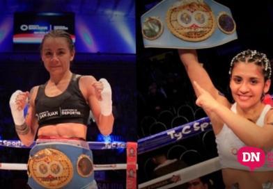 Leonela Yúdica y Cecilia Román, con fecha y rivales para defender los títulos mundiales