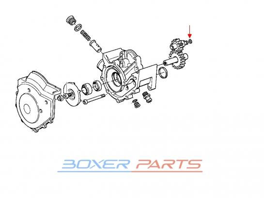 oring wirnika pompy oleju BMW 11411460328 K1200 K1100 K100 K75