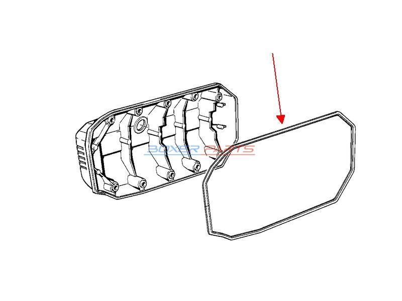 uszczelka pokrywy wału korbowego BMW K100RS K1100 1200 RS
