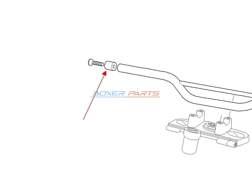 odważnik balanser BMW F650GS G650GS F650CS DAKAR