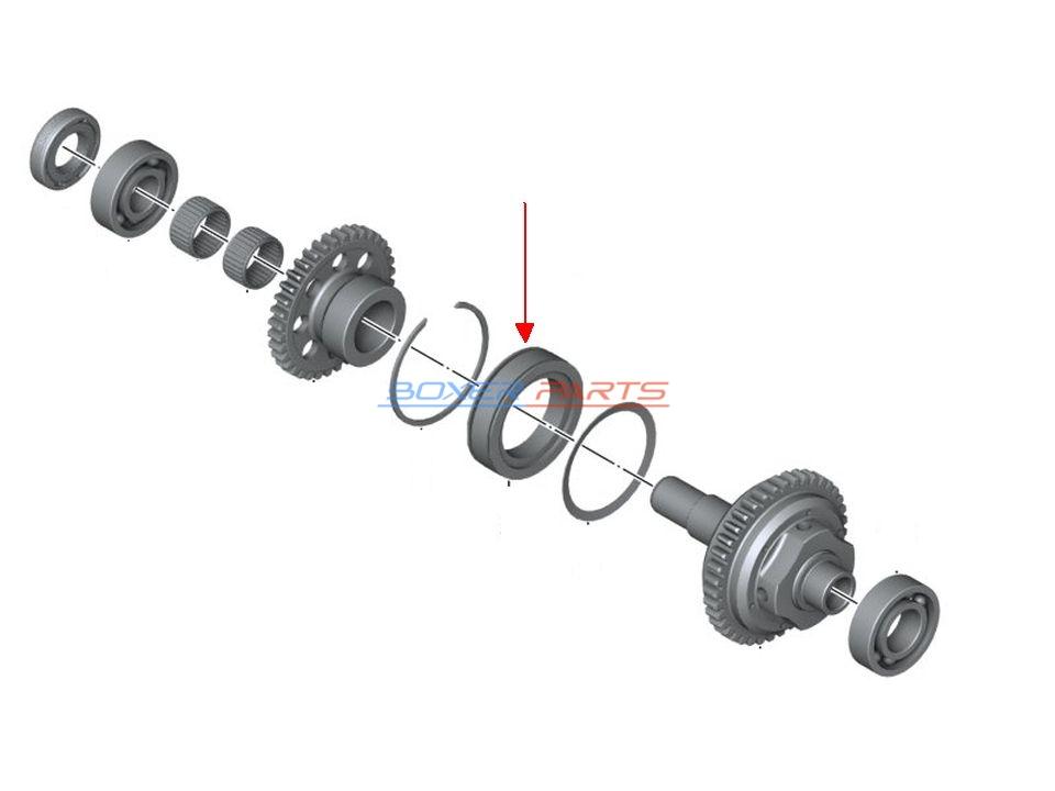 wolne koło sprzęgło kierunkowe K1300 K1200 K1100 K100 K75