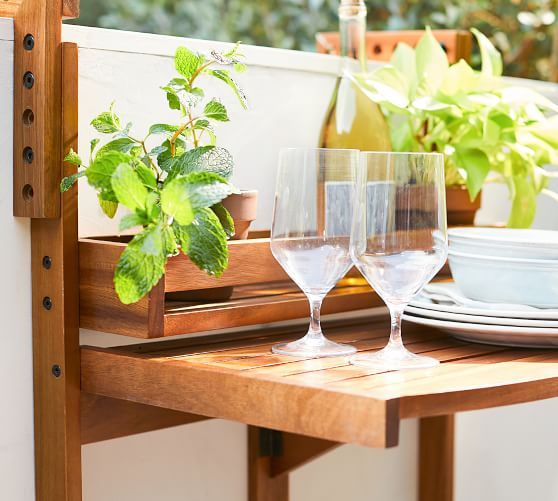 55+ Balcony Table Ideas For Your Lovely Home/Apartment