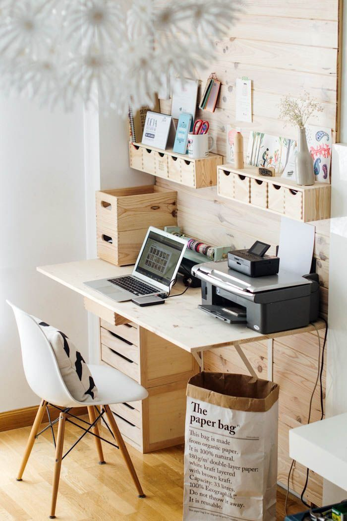 decorating a small home office on a budget
