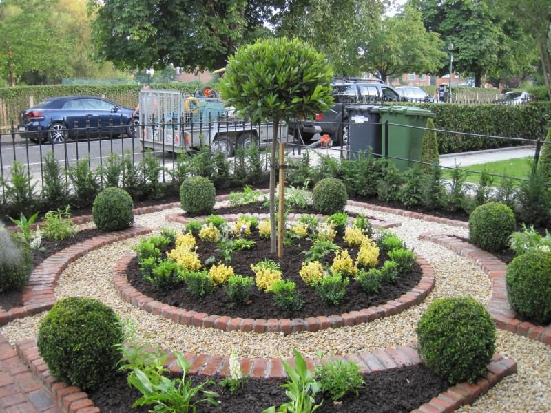 small backyard perennial garden