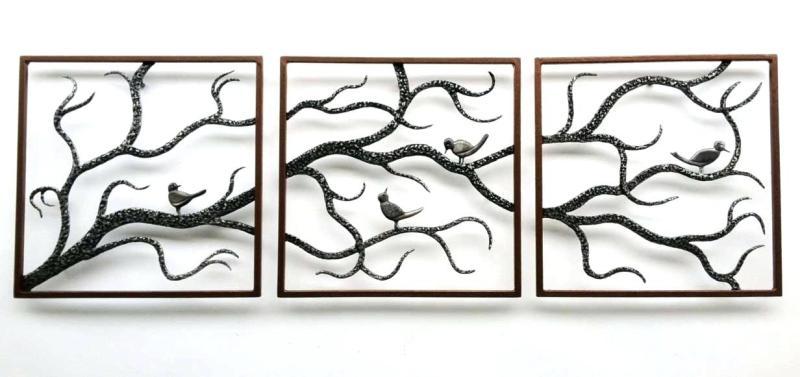 metal wall decor butterflies