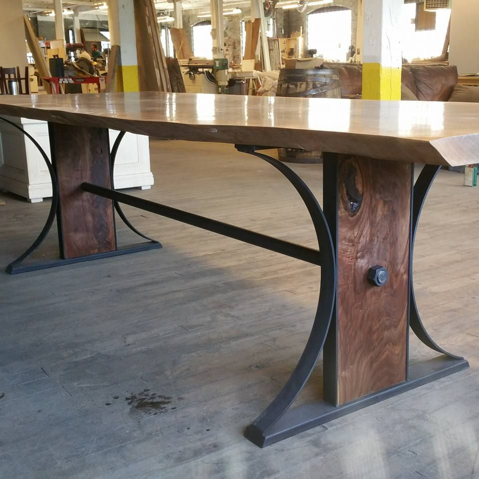 Rustic Dining Room Buffet Table