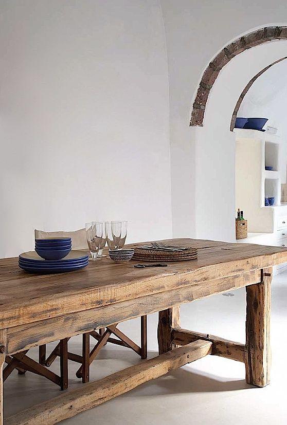 Piece Rustic Dining Room Set