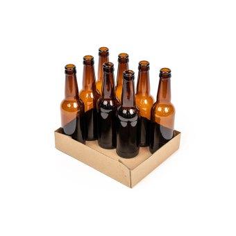 12 x 330ml bottle tray half full