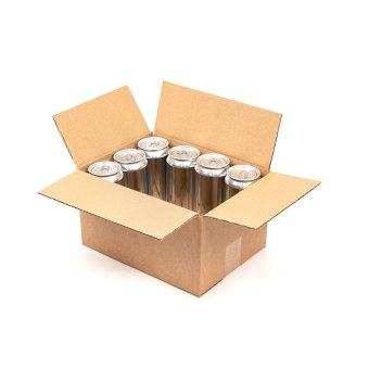 12 x 440 can box half full