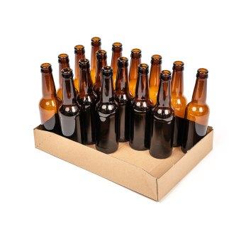 24 x 330ml bottle tray half full