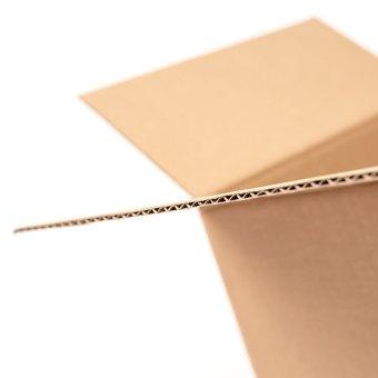 BOTTLE BOX SINGLE WALL CLOSE UP