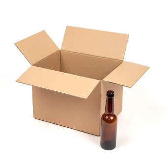 BOTTLE BOX TO FIT 18 X 330ML EMPTY