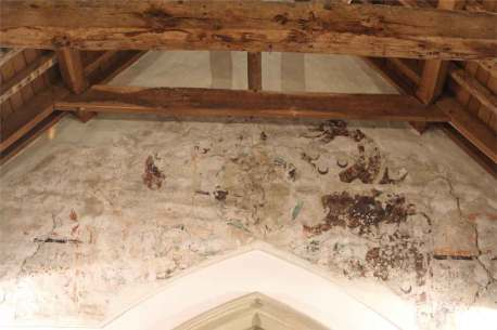 The frieze, St Andrew's Boxford