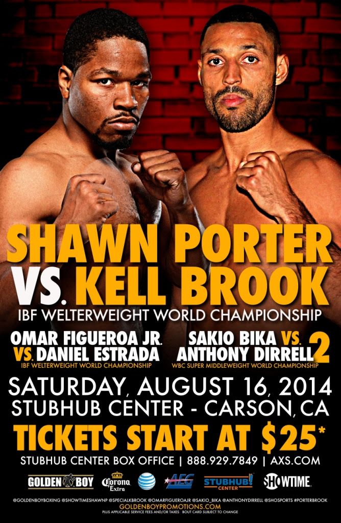 Shawn Porter vs. Kell Brook [Alternate]