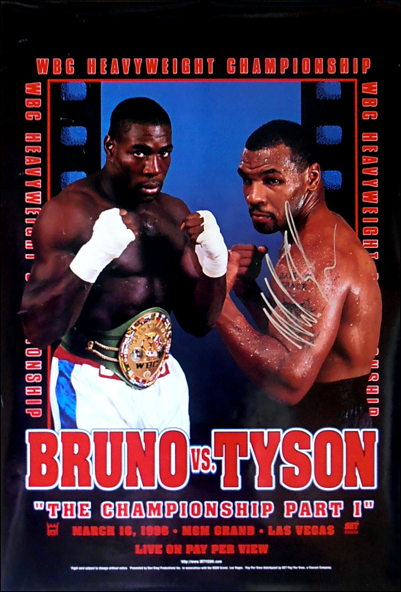 Frank Bruno vs. Mike Tyson