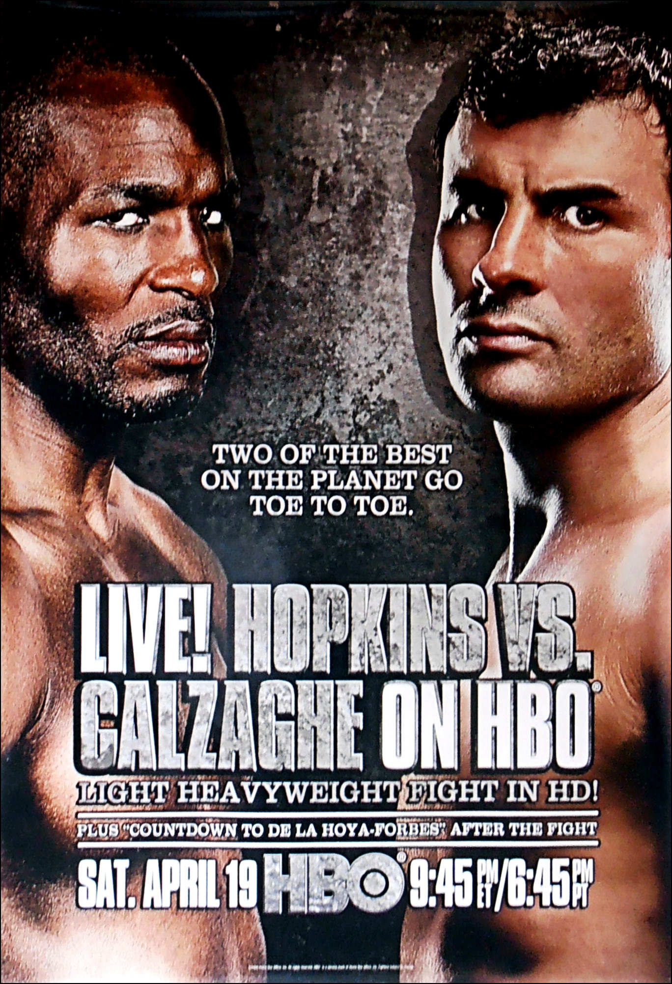 Bernard Hopkins vs. Joe Calzaghe