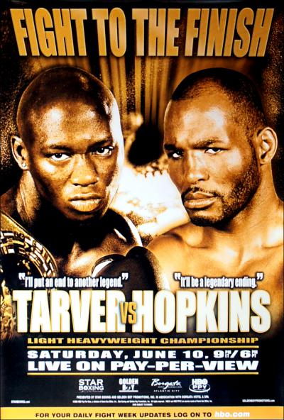 Antonio Tarver Vs. Bernard Hopkins