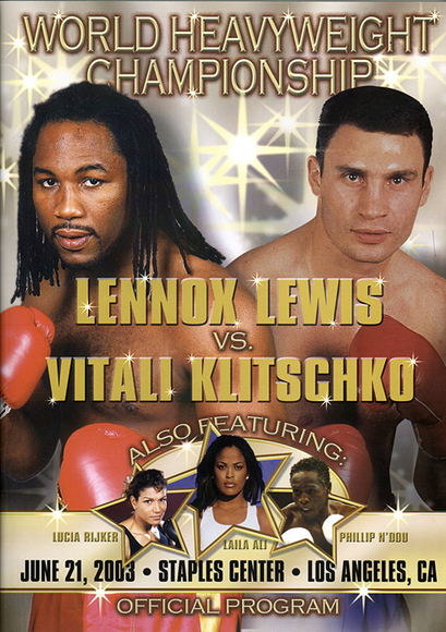 Lennox Lewis vs. Vitali Klitschko