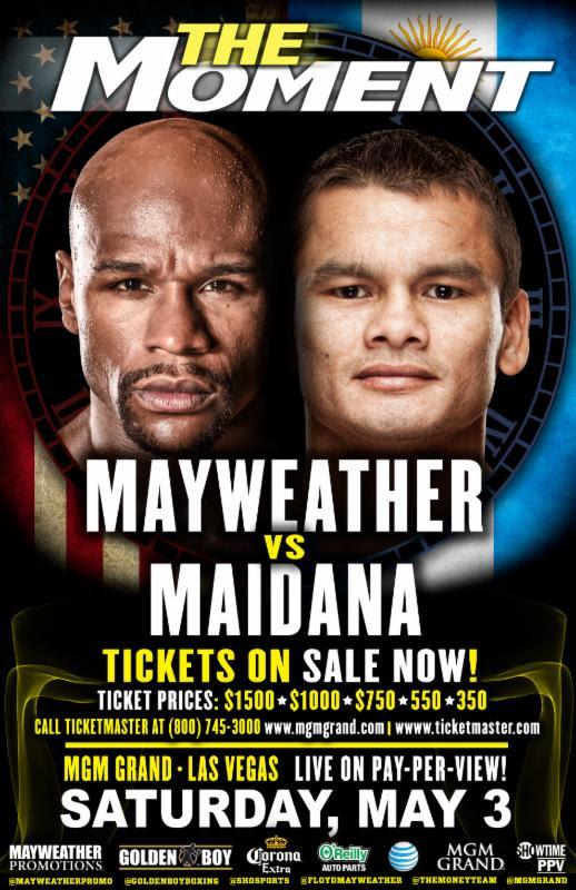 Floyd Mayweather Jr. vs. Marcos Maidana I