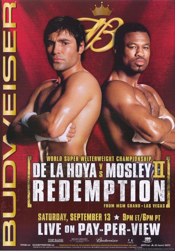 Oscar De La Hoya vs. Shane Mosley II