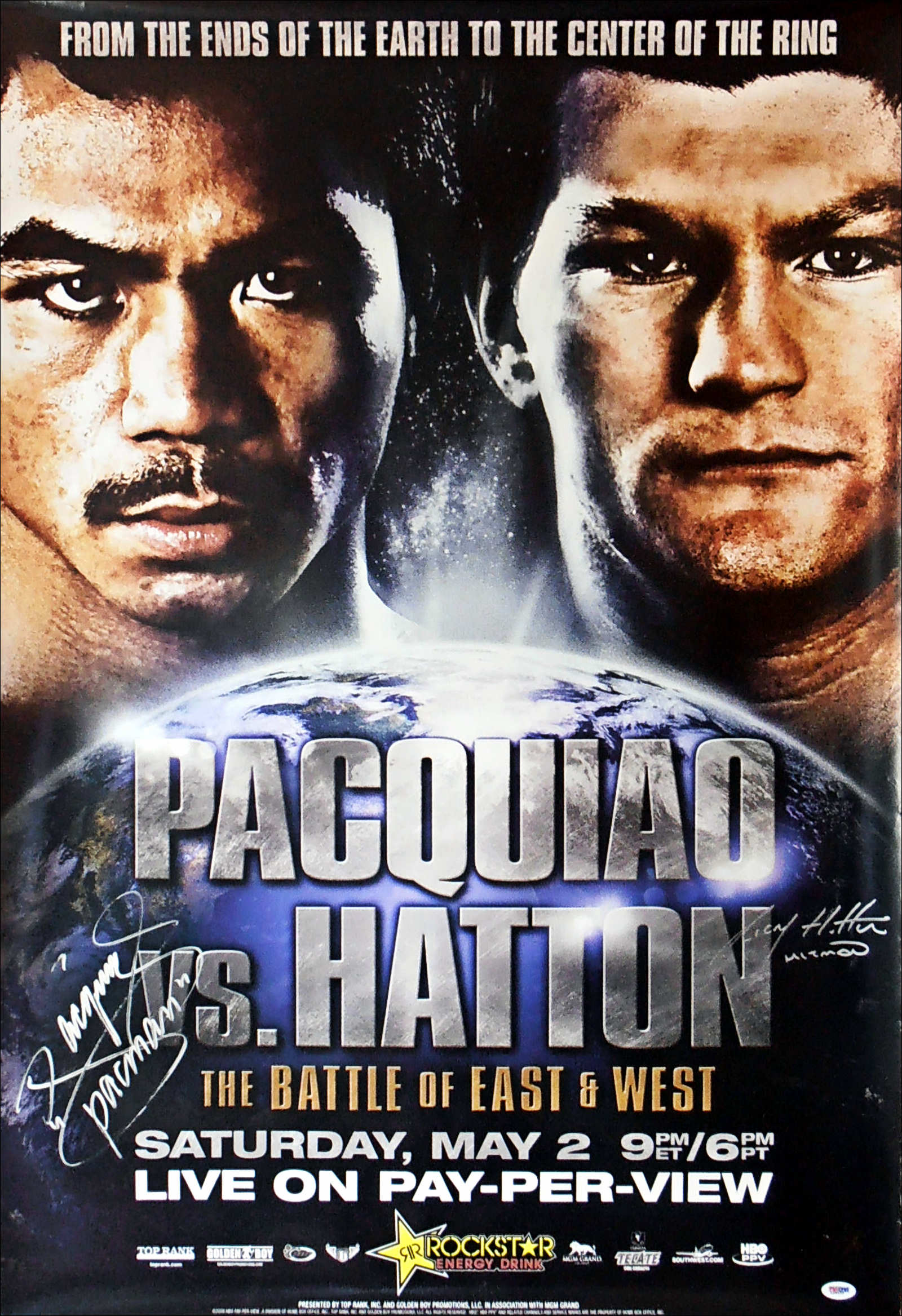 Manny Pacquiao vs. Ricky Hatton