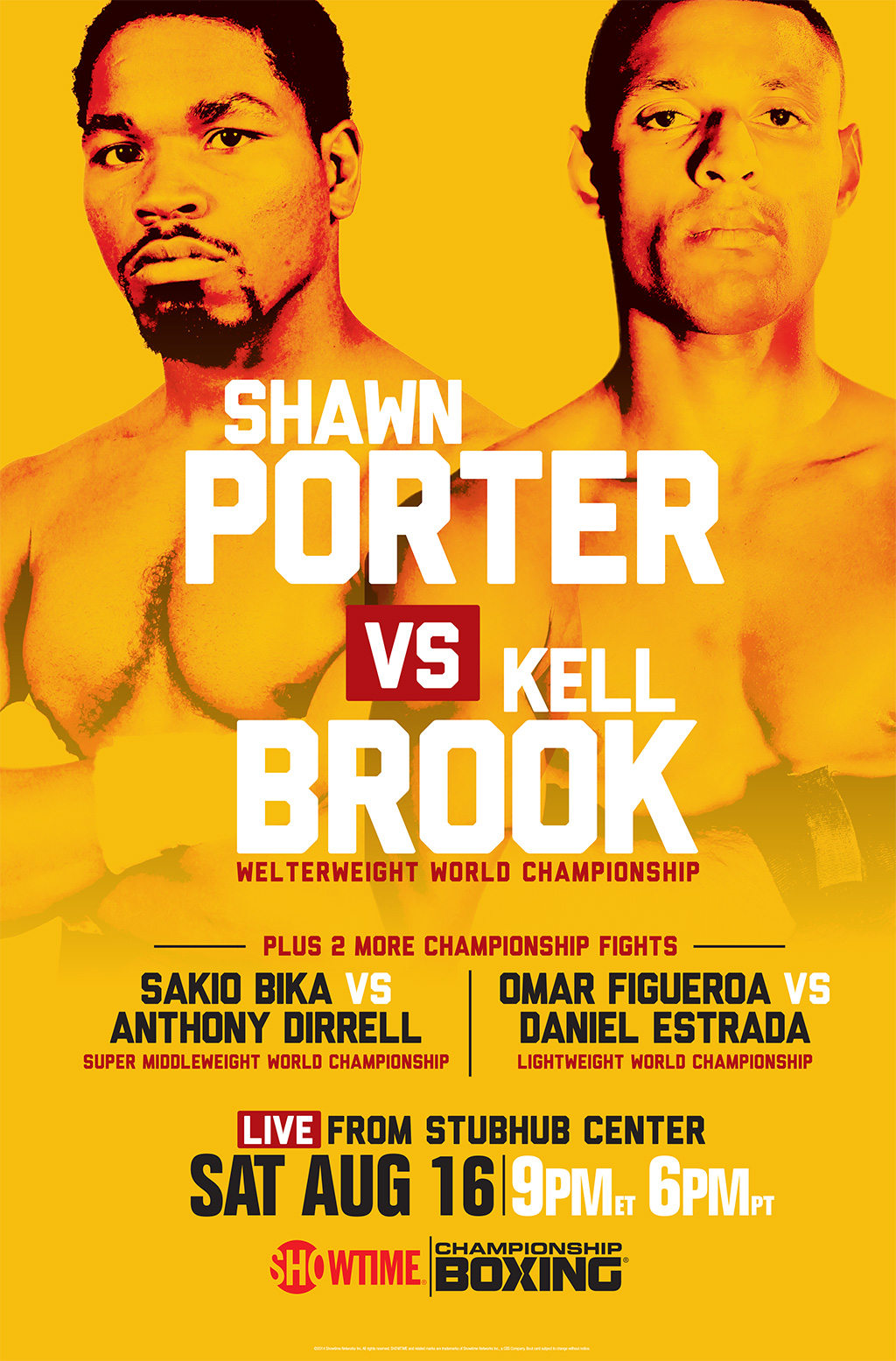 Shawn Porter vs. Kell Brook