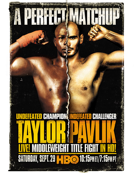 Jermain Taylor vs. Kelly Pavlik