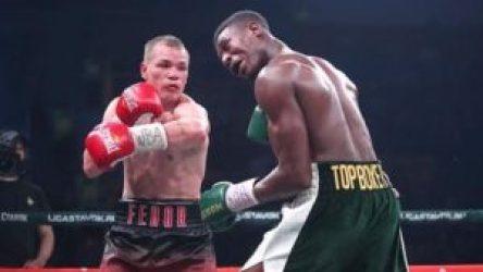 Fedor Chudinov derrotó a Umar Sadik