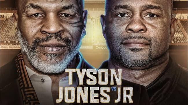 - Latest Mike Tyson Roy Jones Jr.
