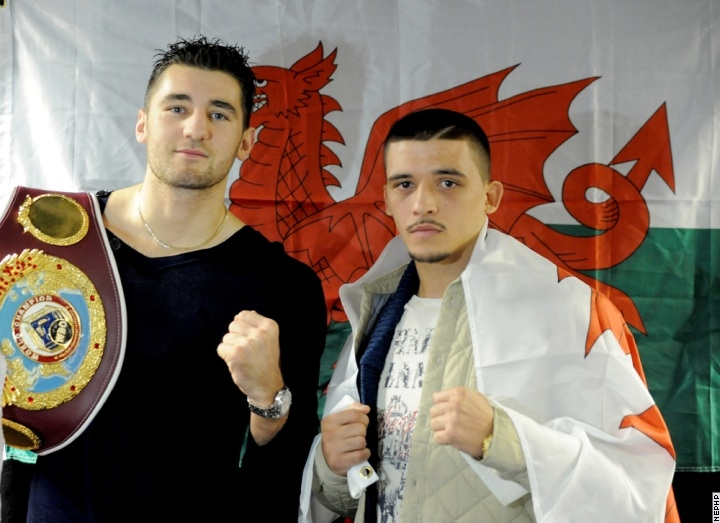 Nathan Cleverly Lee Selby