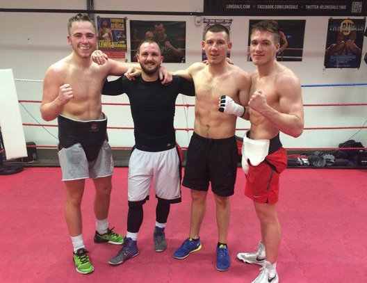 Nick Blackwell Liam Williams Alex Hughes Dale Evans