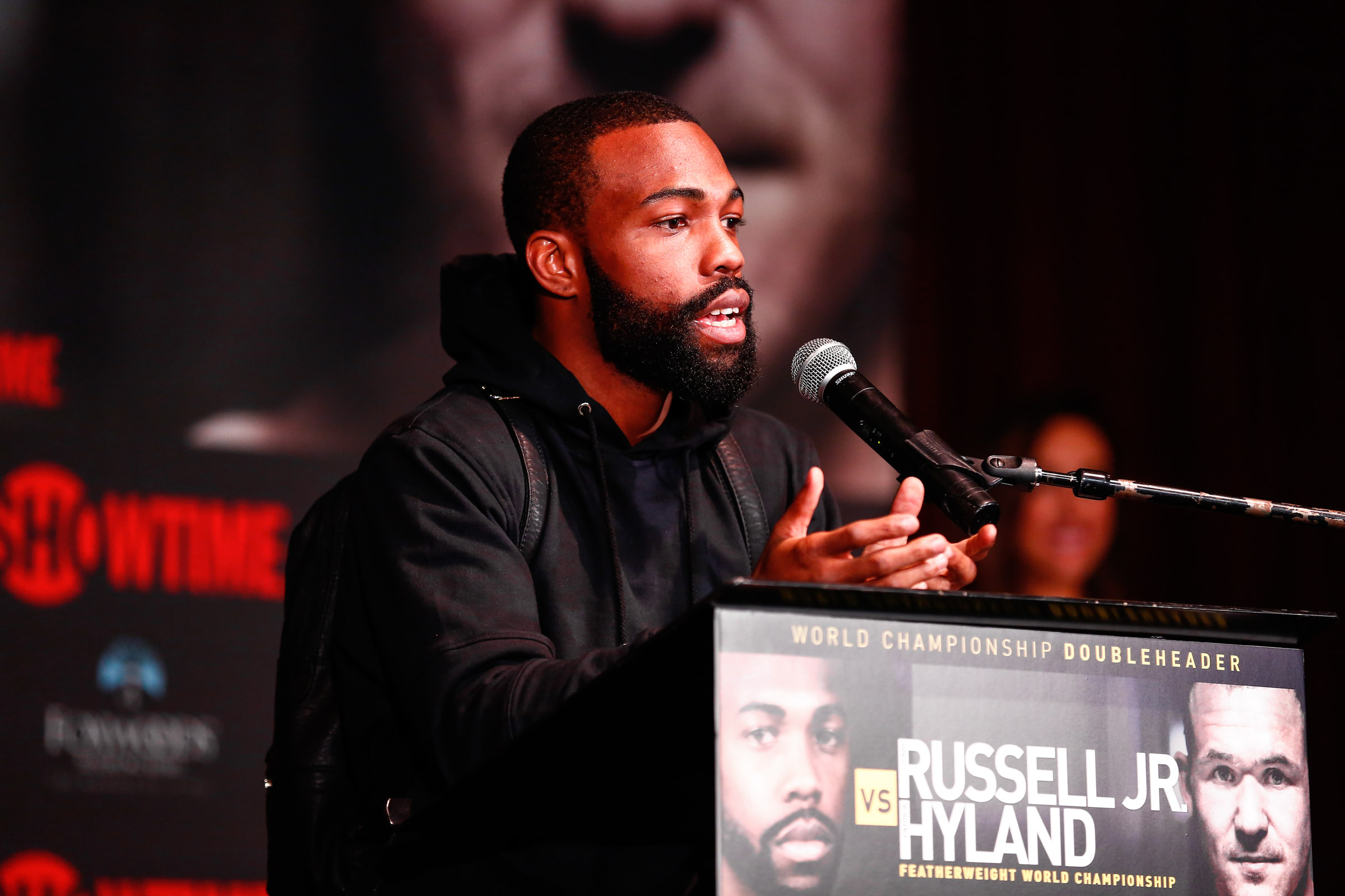 Gary Russell Jr - Stephanie Trapp/Showtime