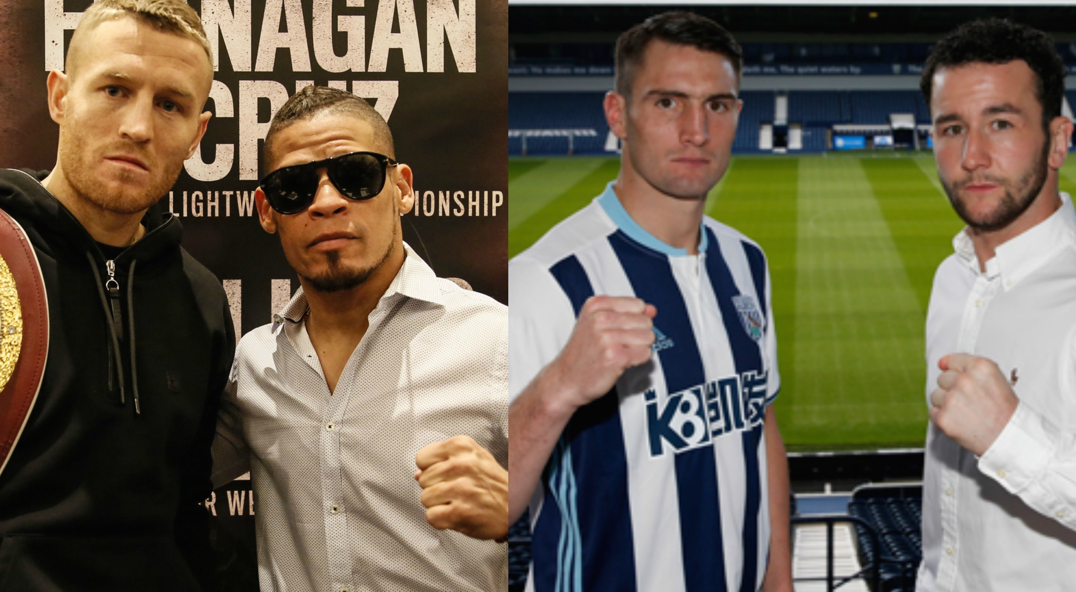 Terry Flanagan Orlando Cruz Tommy Langford Sam Sheedy