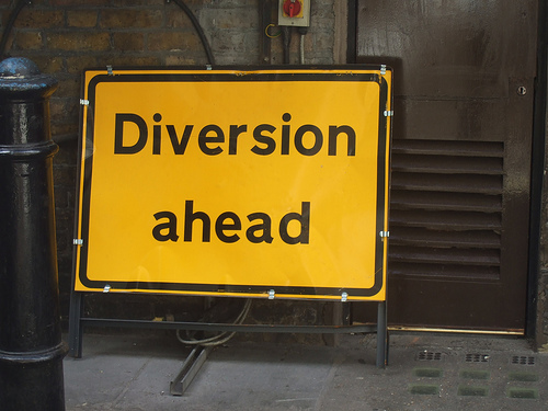 diversion-ahead