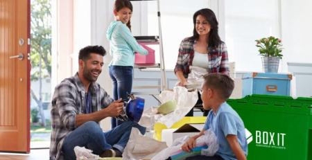 Moving with children, basic tips