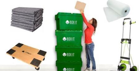 Schachteln und Verpackungen für Umzüge
