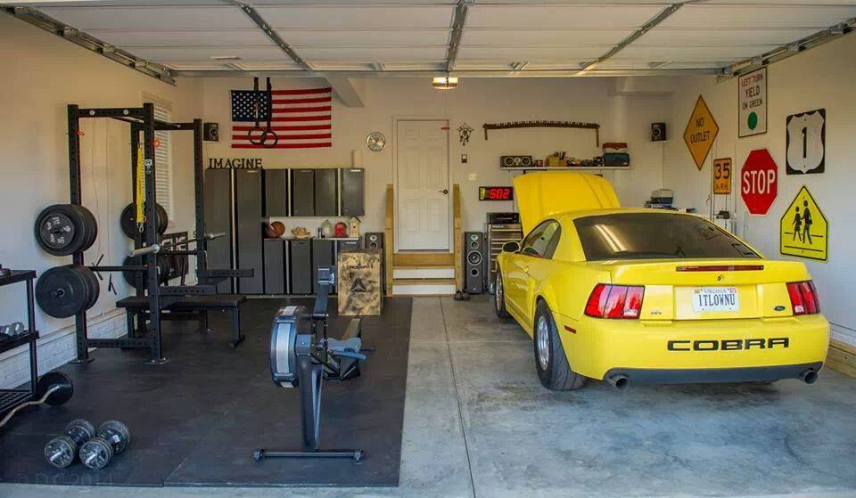 Awesome Crossfit Home Gyms on build a home gym in garage