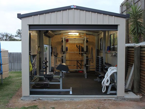 Small Crossfit Gym Shed