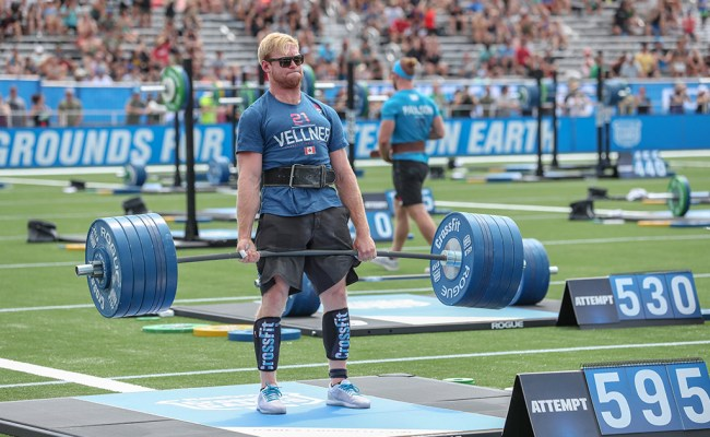 Elimination Rounds Athlete Seeding At The 2019 Crossfit