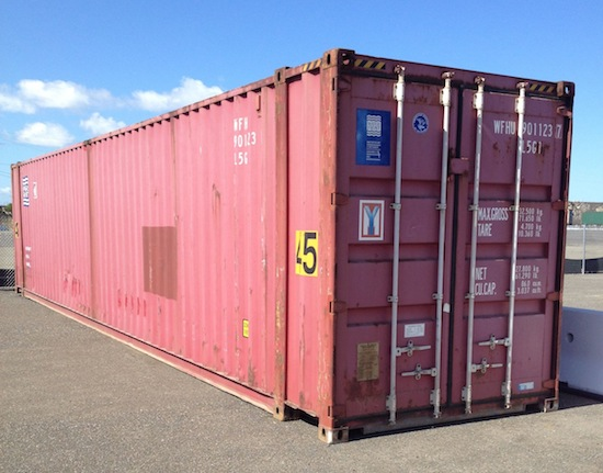 Specialized High Cube Container
