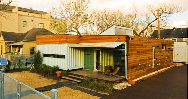Upcycled Eco Container Home