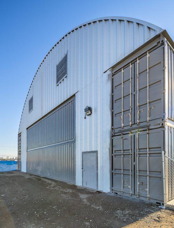 modular container warehouse