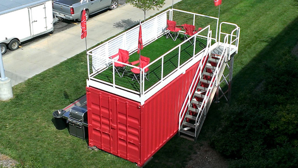 cost-effective container deck