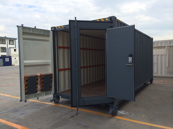 custom container project for military