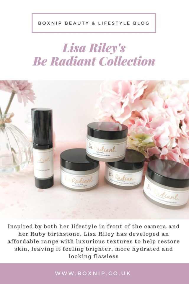 Be Radiant Collection by Lisa Riley