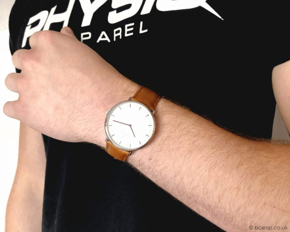 Nordgreen Native Scandinavian Silver Unisex Analogue Watch